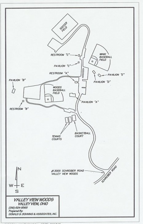 Map of Valley View Woods